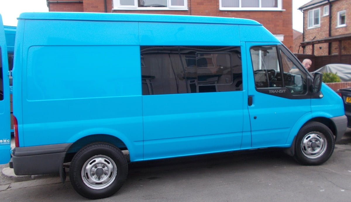 Ford Transit Mwb Lwb Pair Of Privacy Tinted Opening