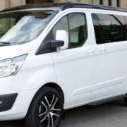 Ford Transit Custom N/S/R Fixed Window in Privacy Tint (LWB L2) 1