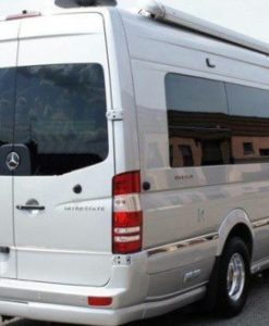 Mercedes Sprinter Nearside Back Door Glass In Privacy Tint