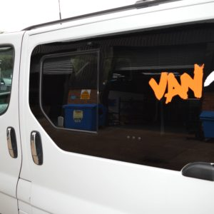 Vauxhall Vivaro Pair Of Privacy Tinted Opening Windows For Twin Sliding Doors With FREE Fitting Kit Worth Over £50.00