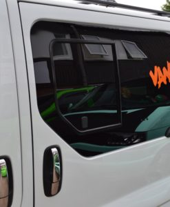 Renault Trafic Pair Of Privacy Tinted Opening Windows With FREE Fitting Kit Worth Over £50.00