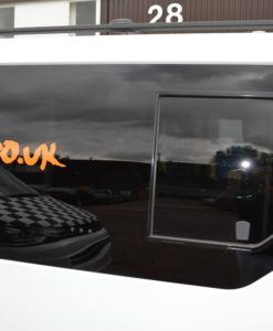 Vauxhall Vivaro O/S/F Opening Window in Privacy Tint