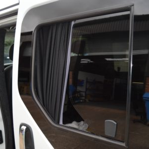 Vauxhall Vivaro N/S/F Opening Window in Privacy Tint