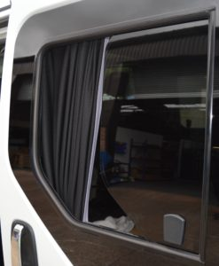 Renault Trafic Pair Of Privacy Tinted Opening Windows For Twin Sliding Doors With FREE Fitting Kit Worth Over £50.00