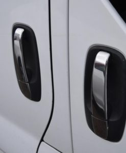 Renault Trafic Stainless Steel Chrome Door Handle Covers (3 door)