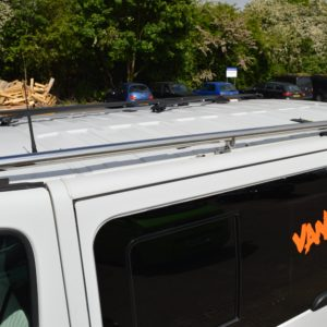 Vauxhall Vivaro Mirror Polished Stainless Steel Roof Rails SWB