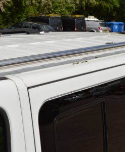 Nissan Primastar x82 Mirror Polished Stainless Steel Roof Bars SWB