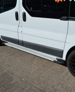 Renault Trafic Fox Running Boards / Side Steps - Aluminium (SWB L1)
