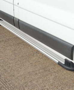 Nissan Primastar Fox Running Boards / Side Steps - Aluminium (SWB L1)