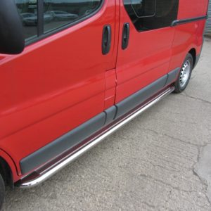 Nissan Primastar Apollo Stainless Steel Polished Side Steps (LWB L2)