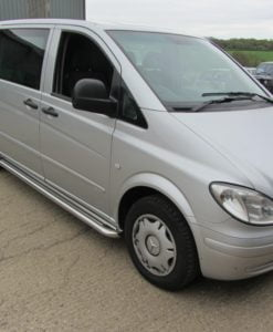 Mercedes Vito Apollo Stainless Steel Polished Side Steps (XLWB L2)