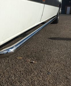 Volkswagen Crafter Stainless Steel Sportline Side Bars (L4 XLWB)