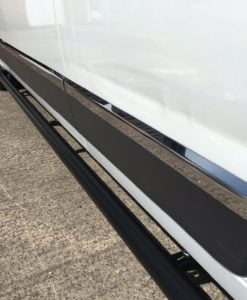 Fiat Ducato Stainless Steel Chrome Side Door Streamers (8 Piece) - LWB