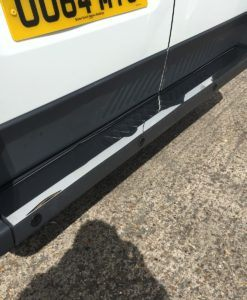 Citroen Relay Chrome Rear Bumper Protector