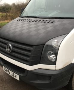VW Crafter Chequered Bonnet Bra