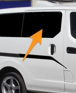 Nissan NV200 O/S/F Fixed Window in Privacy Tint