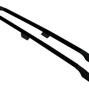 Nissan Primastar Black Aluminium Roof Rails and Cross Bars Set (LWB)