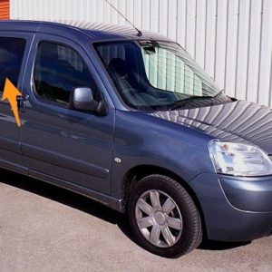 Citroen Berlingo O/S/F Fixed Window in Privacy Tint