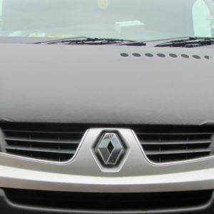 Citroen Relay Black Bonnet Bra