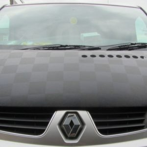 Citroen Relay Chequered Bonnet Bra