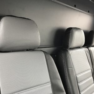 Volkswagen Crafter Seat Covers - Grey