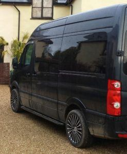 Volkswagen Crafter Windows
