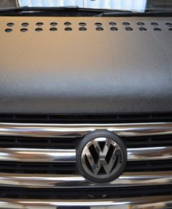 VW Crafter Black Bonnet Bra