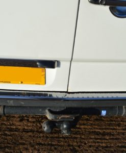 Mercedes Sprinter Chrome Rear Bumper Protector