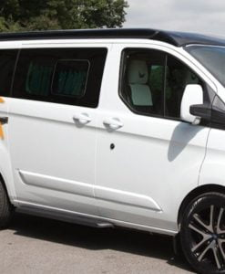 Ford Transit Custom O/S/R Fixed Window in Privacy Tint (LWB L2)
