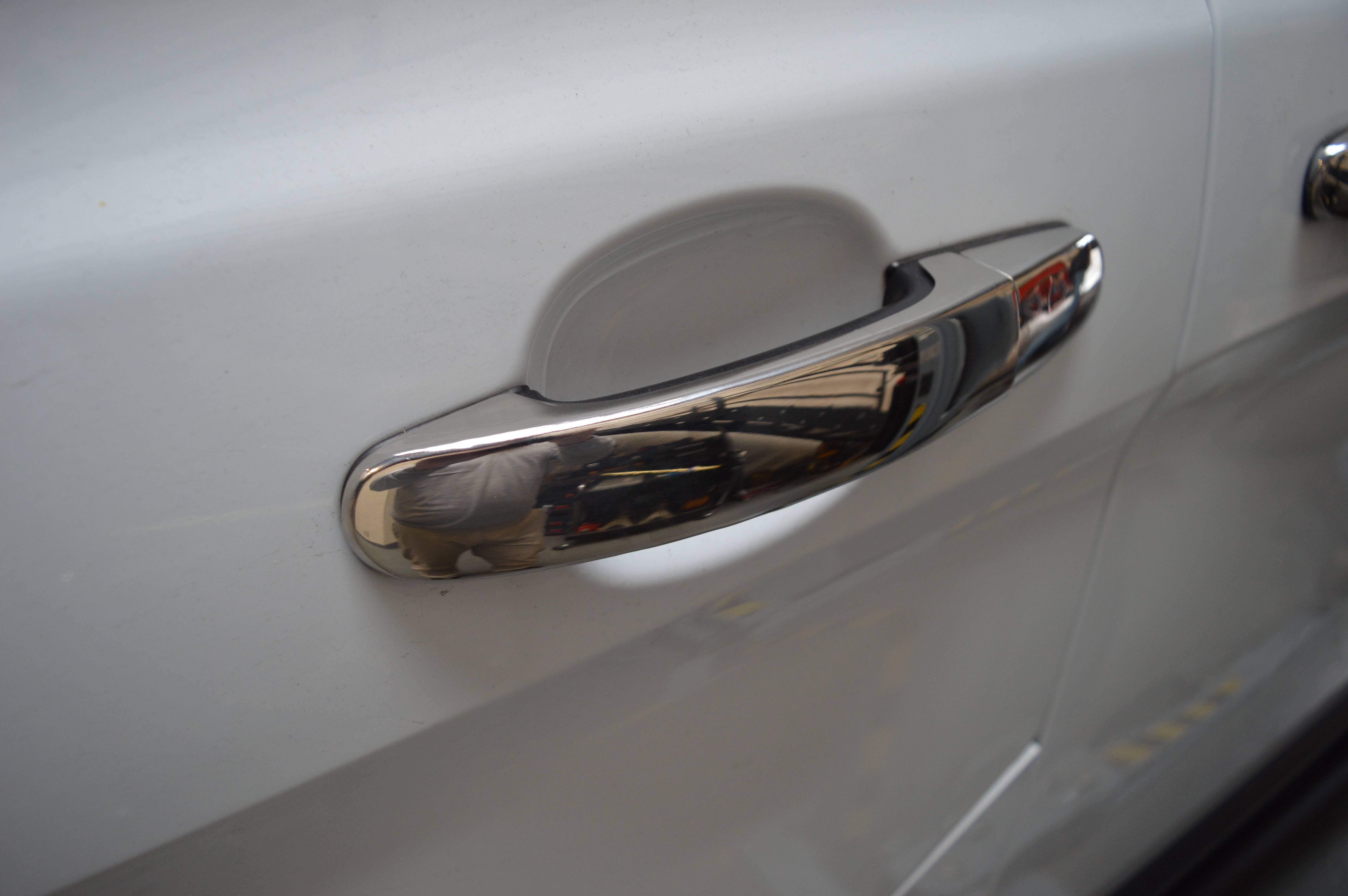 Ford Transit Custom Stainless Steel Chrome Door Handle Covers 4