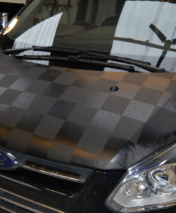 Transit Custom Chequered Bonnet Bra