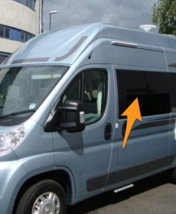 Peugeot Boxer N/S/F Fixed Window in Privacy Tint SWB (L1)