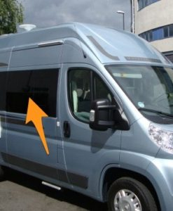 Citroen Relay O/S/F Sliding Window in Privacy Tint SWB (L1)