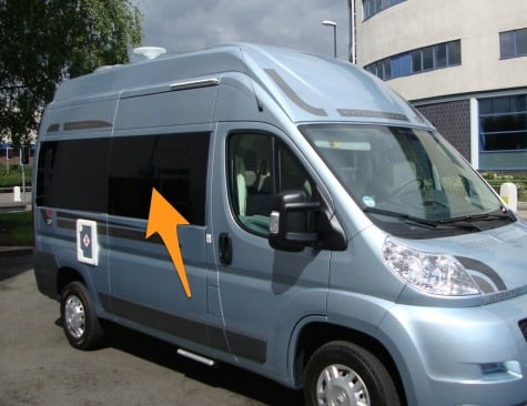 Fiat Ducato MWB (L2) Full Set Of Privacy Tinted Windows With FREE Fitting Kit Worth Over £150.00