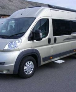Fiat Ducato N/S/R Fixed Window in Privacy Tint LWB (L3)