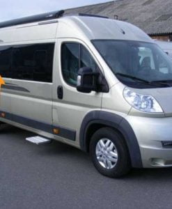 Fiat Ducato O/S/M Fixed Window in Privacy Tint LWB (L3)