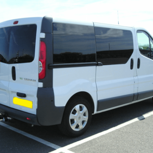 Vauxhall Vivaro Nearside Back Door Glass In Privacy Tint