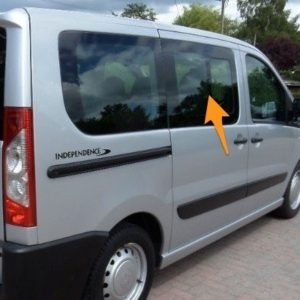 Peugeot Expert Pair Of Privacy Tinted Opening Windows With FREE Fitting Kit Worth Over £50.00