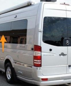 Mercedes Sprinter N/S/M Fixed Window In Privacy Tint LWB