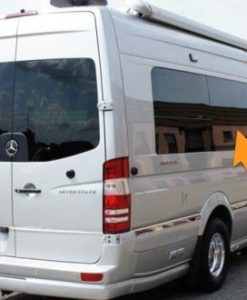 Volkswagen Crafter O/S/M Fixed Window In Privacy Tint LWB