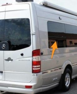 Mercedes Sprinter O/S/R Fixed Window In Privacy Tint LWB