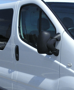 Vauxhall Vivaro Windows