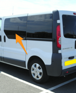 Renault Trafic N/S/F Fixed Window in Privacy Tint