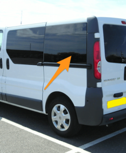 Nissan Primastar N/S/R (Rear) Fixed Window in Privacy Tint LWB