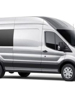 Ford Transit 2013> O/S/Middle Fixed Window in Privacy Tint XLWB