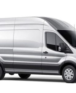 Ford Transit 2013> O/S/R Fixed Rear 1/4 Window in Privacy Tint XLWB