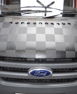 Ford Transit Chequered Bonnet Bra
