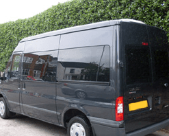 Ford Transit LWB Full Set Of Privacy Tinted Windows With FREE Fitting Kit Worth Over £150.00