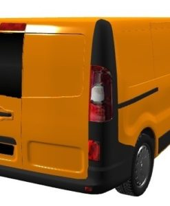 Renault Trafic 2014 X82 Nearside Back Door Glass In Privacy Tint