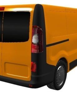 Vauxhall Vivaro 2014 X82 Back Door Glass (pair of windows) In Privacy Tint